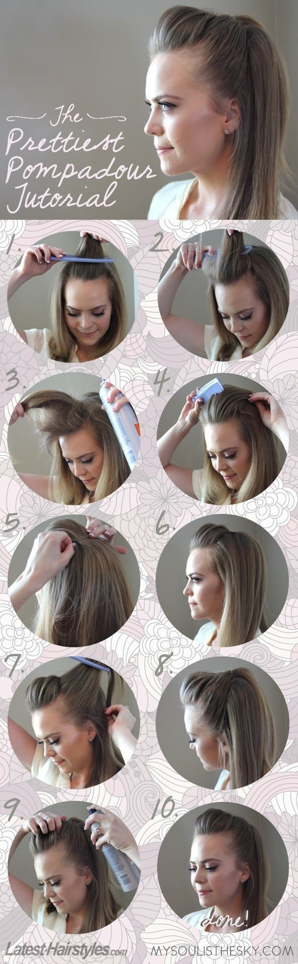 Five-Minute Hairstyle 12