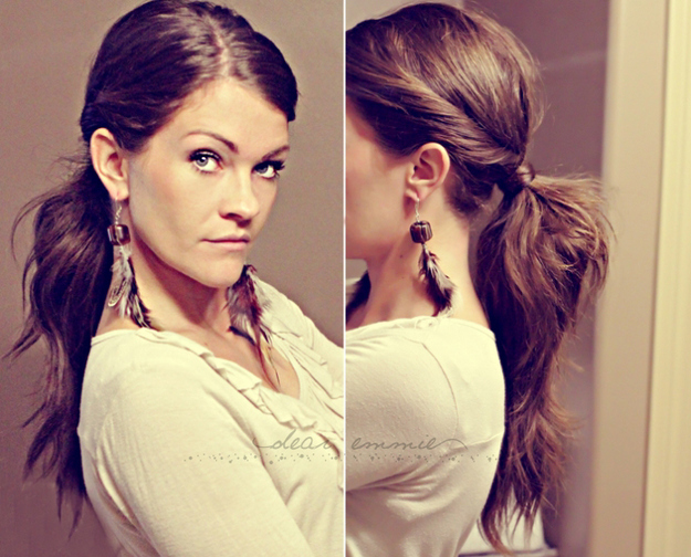 Five-Minute Hairstyle 14