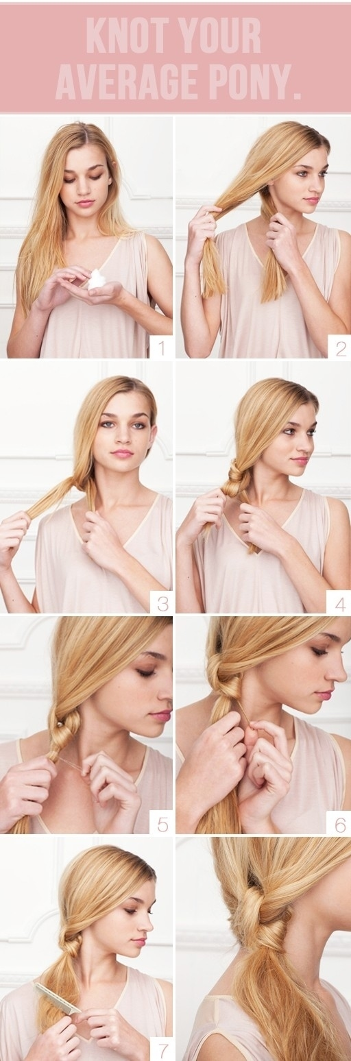 Five-Minute Hairstyle 17