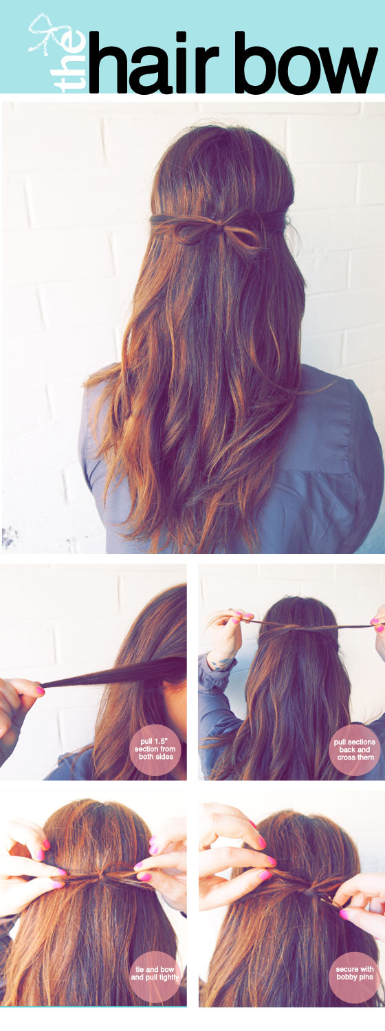 Five-Minute Hairstyle 18