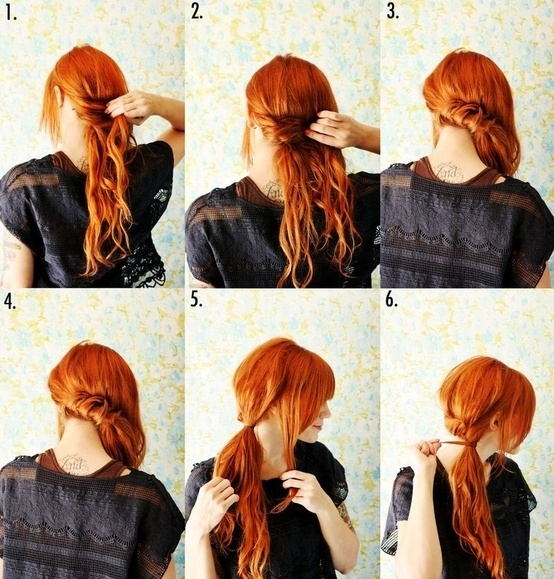 Five-Minute Hairstyle 3