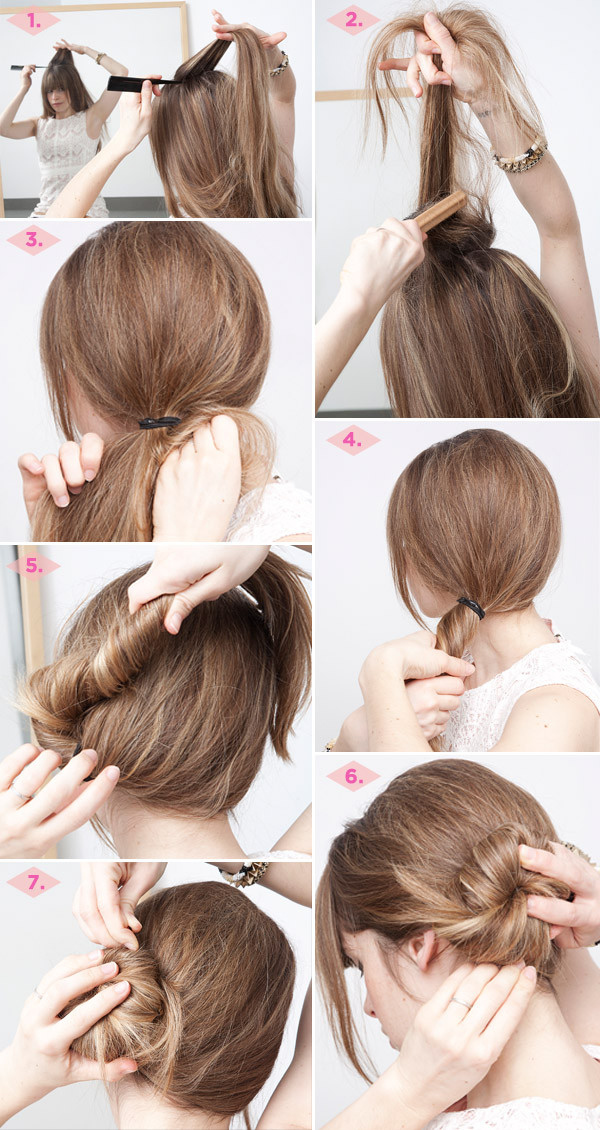 Five-Minute Hairstyle 4