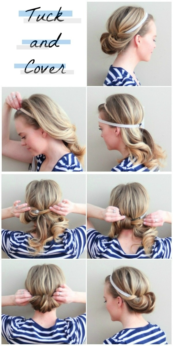 Five-Minute Hairstyle 6