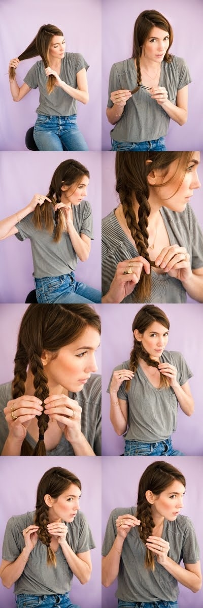 Five-Minute Hairstyle 8