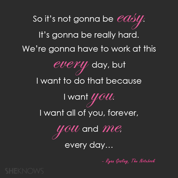 I want you, love quotes