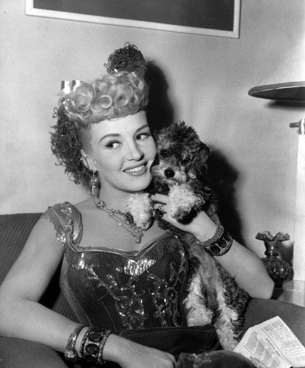 Betty Grable poodle