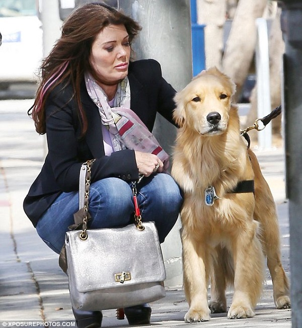Lisa Vanderpump golden retriever