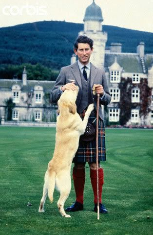 Prince Charles dog Harvey