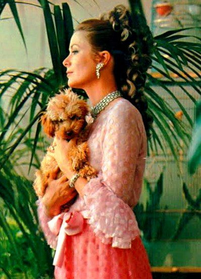 Princess Grace Kelly poodle