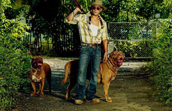 Salman Khan french mastiffs