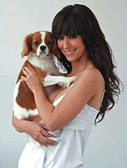 Jennifer Love Hewitt dog