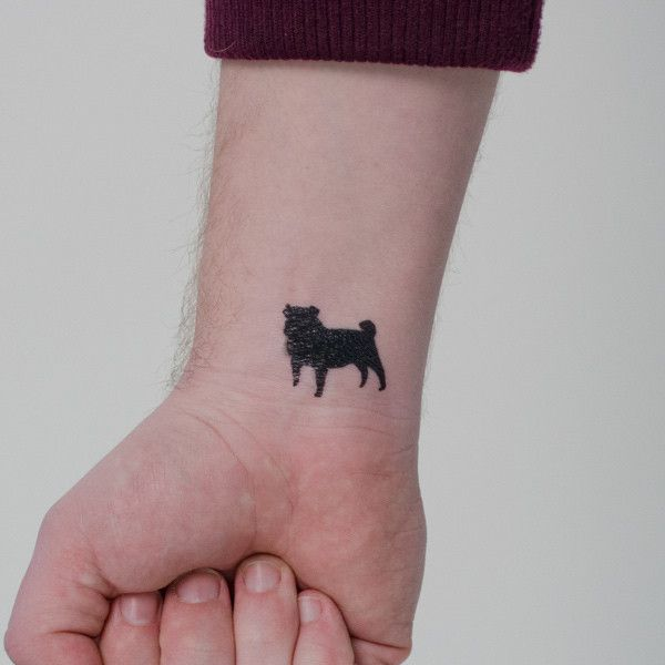 the 10 coolest pug tattoo designs in the world. Black Bedroom Furniture Sets. Home Design Ideas