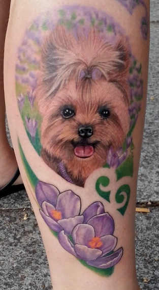 The 10 Coolest Yorkshire Terrier Tattoo Designs In The