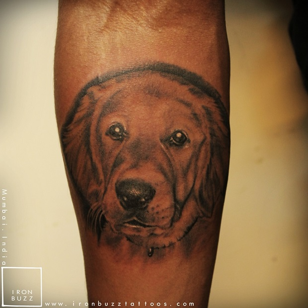 Golden Retriever Tattoo Pictures to Pin on Pinterest ...