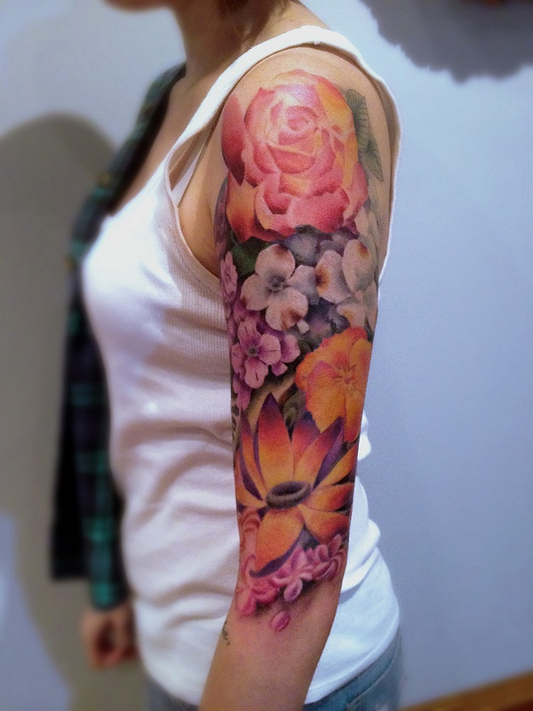 10 Best Flower Tattoo Ideas For Your Arms - Pretty Designs