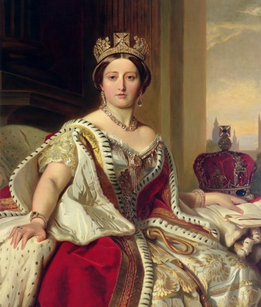 portrait-of-queen-victoria