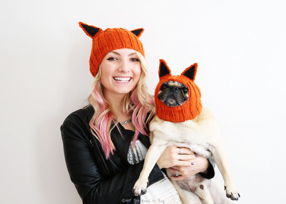 stylish-pug-dog-woman
