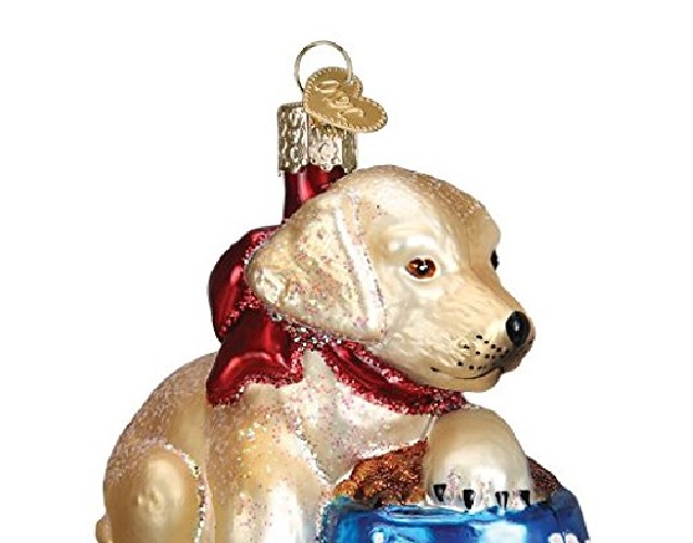 christmas-labrador-pup-glass-blown-ornament