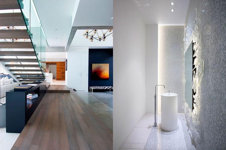 modern private house Groveland interior
