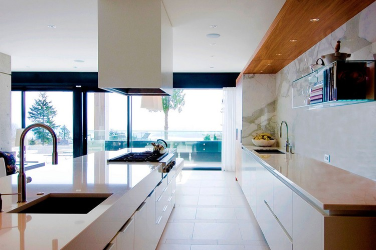 modern private house Groveland kitchen