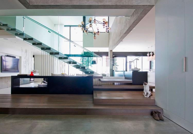 modern private house Groveland upstairs