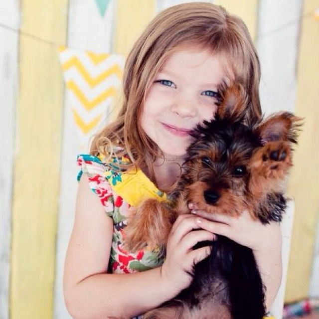 cute girl with dog pics