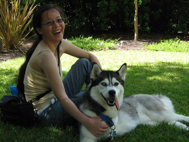 pics husky woman smile