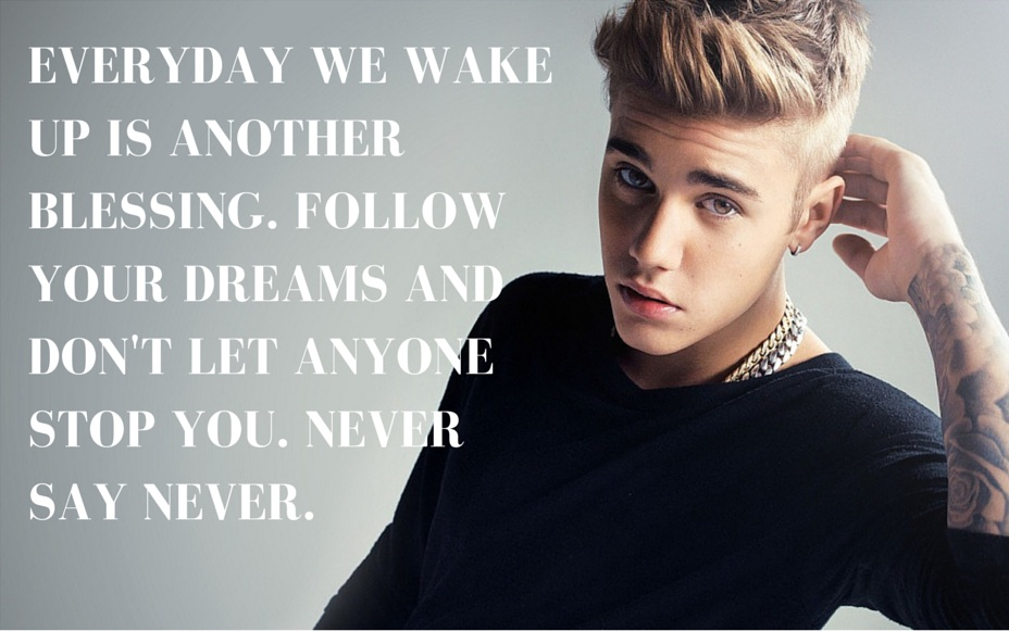 Justin Bieber Quotes | If Justin Bieber Quotes Were Motivational Posters