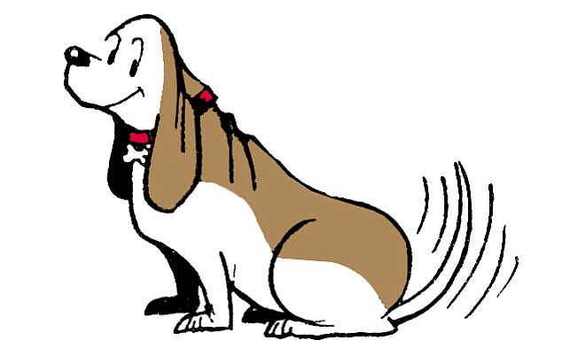 Who was the famous basset hound from a comic strip?
