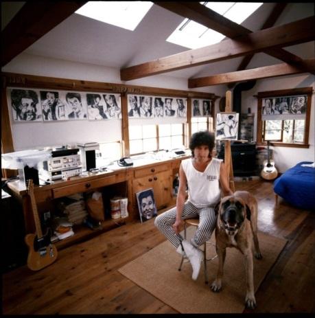 Bob Dylan mastiff