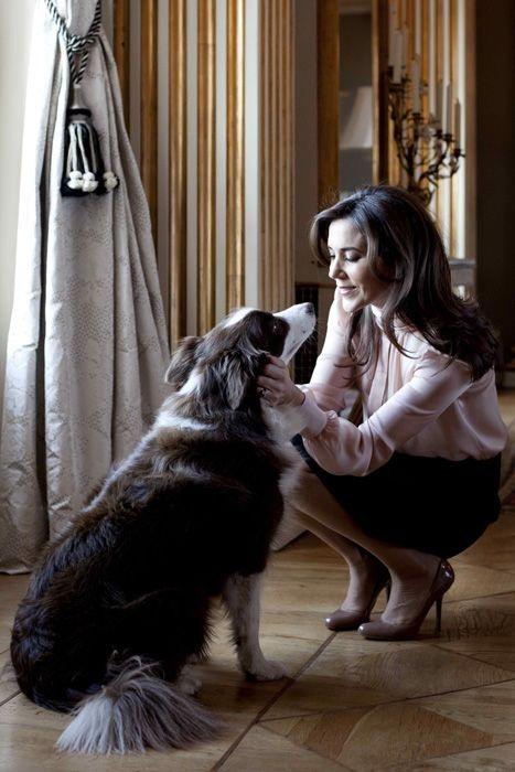 Crown Princess Mary of Denmark dog