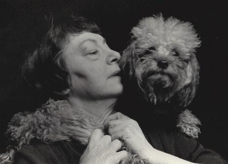 Dorothy Parker poodle