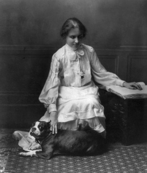 Helen Keller dog