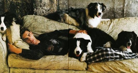 James Franco dog