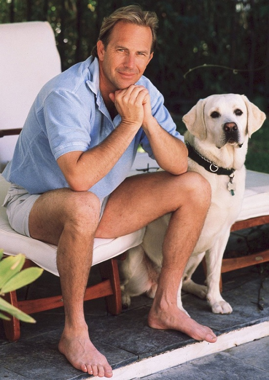 Kevin Costner labrador