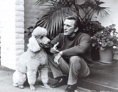 Kirk Douglas poodle