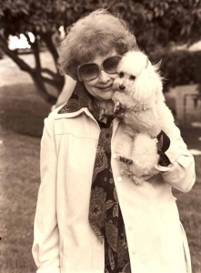 Lucille Ball poodle