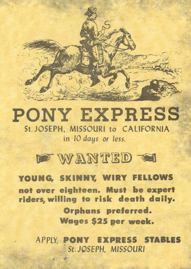 pony express pics wanted