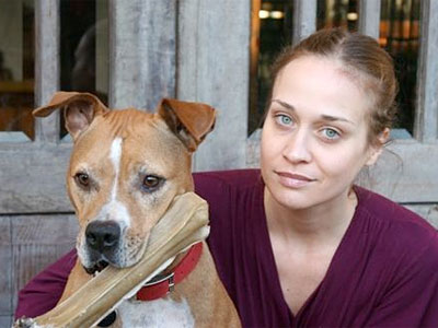 Fiona Apple pit bull