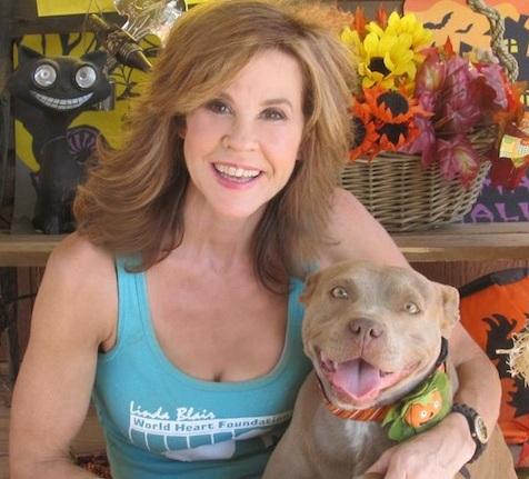 Linda Blair pit bull