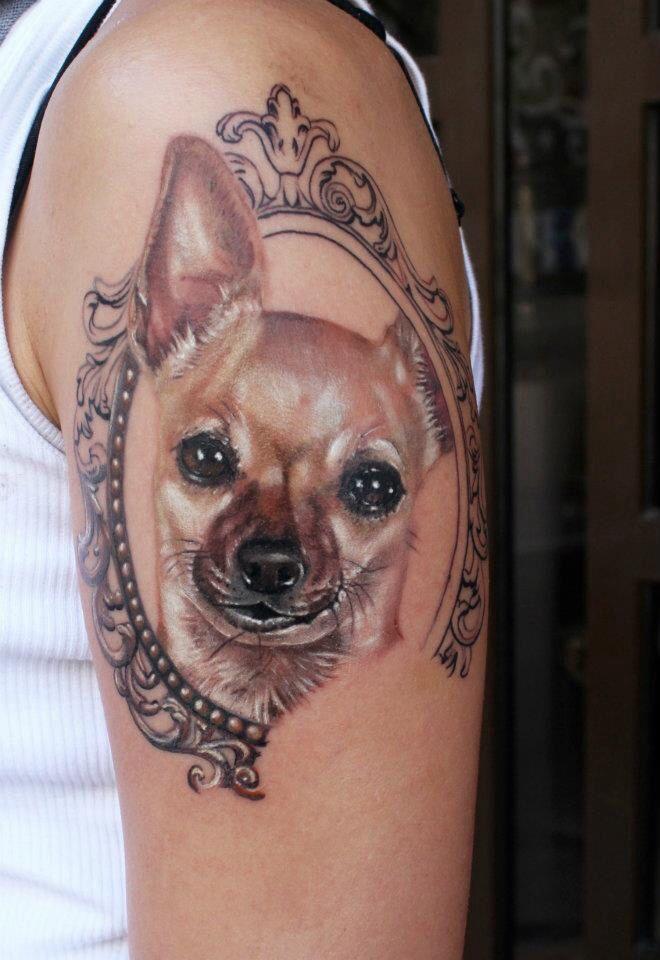 Pet Tattoos Memorial Dog