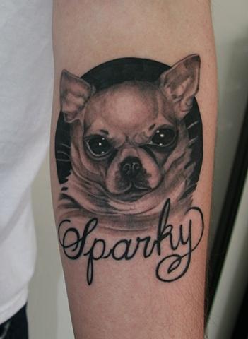 Chihuahua tattoo image