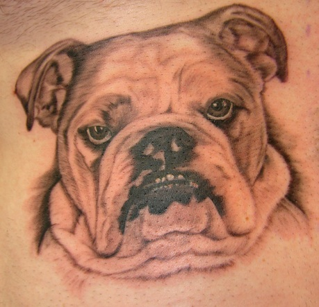 English Bulldog tattoo ideas