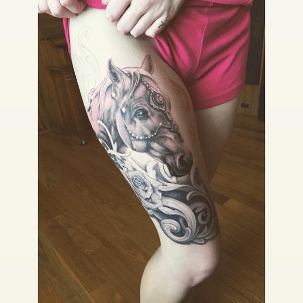 Equine tattoo 1