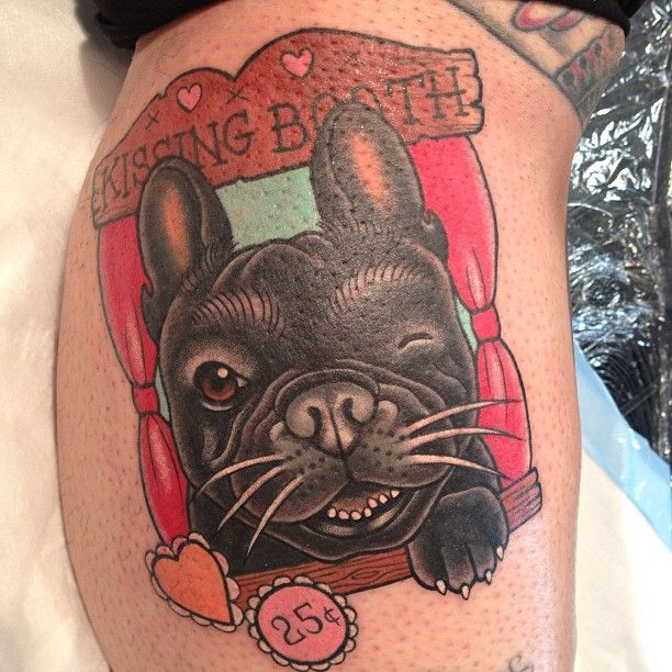 French Bulldog tattoo funny ideas