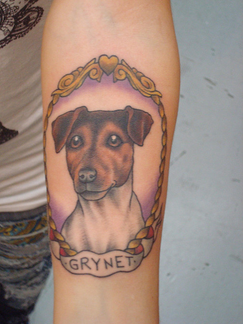 The 14 Coolest Jack Russell Tattoo Designs In The World