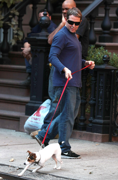 Matthew Broderick Jack Russell dog