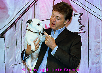 Paul McCartney Jack Russell