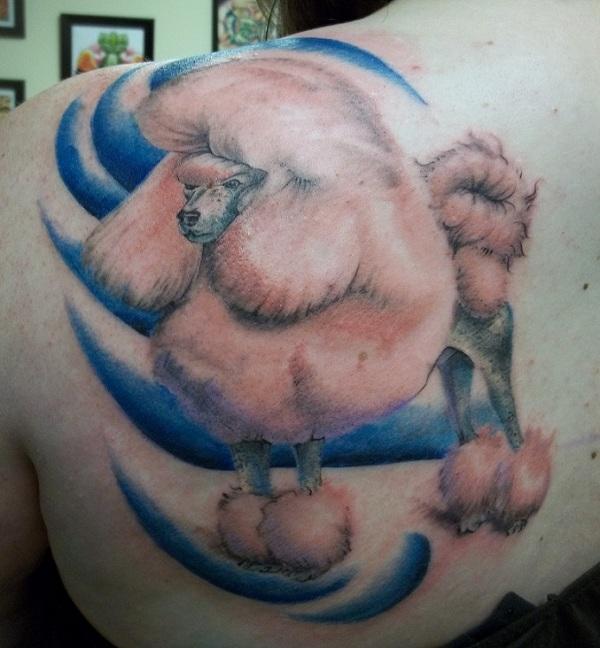 Poodle-3d-tattoo-design2
