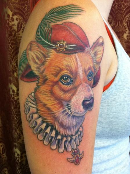 corgi tattoo